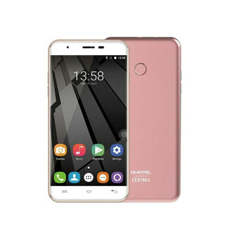 Movil OUKITEL U7 plus pantalla 5.5 pulgadas procesador MT6737 cuatro nucleos 16GB ROM Dual sim 2000mAh 3G Android 4.4