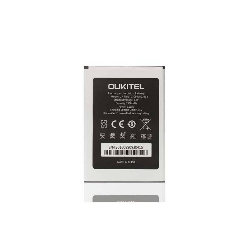 Bateria 2500 mAh de sustitucion para movil chino OUKITEL U7 PLUS