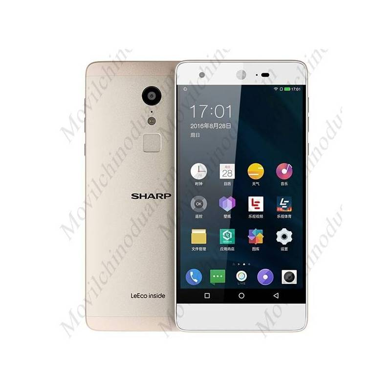 "Movil SHARP A1 pantalla 5.5"" FHD Helio X20 Deca-core Android 6.0 4G con 4GB RAM 32GB ROM"