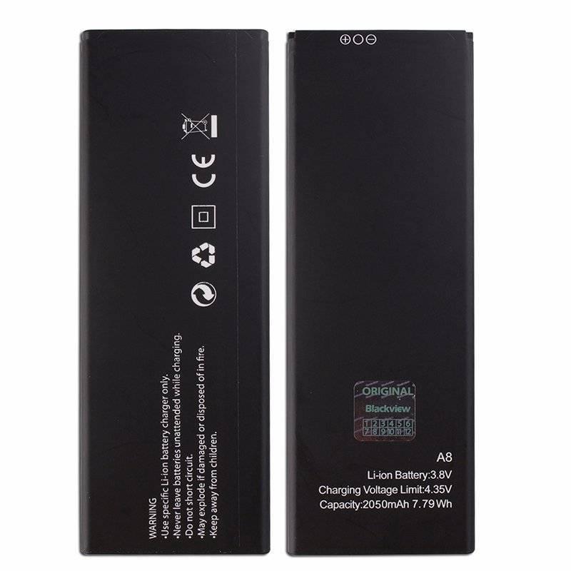Bateria original 3000mAh de reemplazo para movil chino Blackview A8