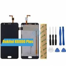Pantalla LCD + pantalla táctil de reemplazo para movil chino Oukitel K6000 Plus