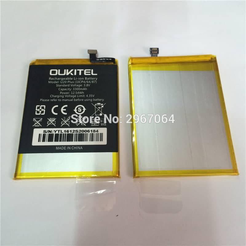 Bateria original de 3300mAh para movil chino Oukitel U20 Plus
