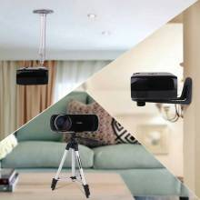 Proyector 1800 Lúmenes soporte Full HD 1080 p reproductor Multimedia de Vídeo LCD Hdmi 3D