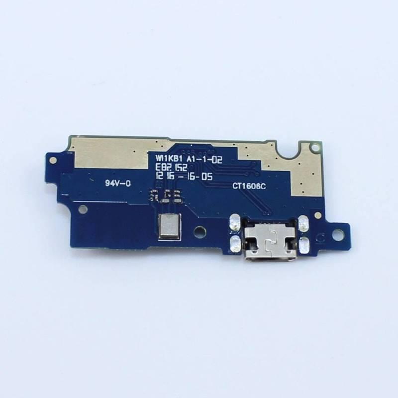 Repuesto placa USB cargador de enchufe para movil chino Leagoo M8