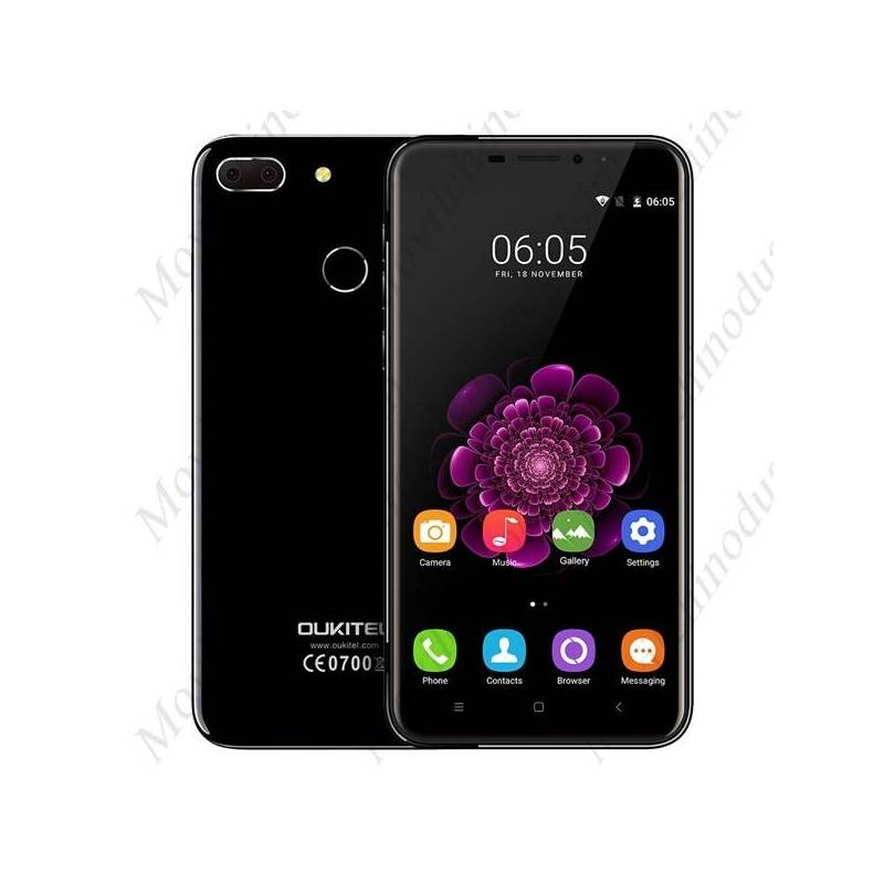 "Movil chino OUKITEL U20 Plus 5.5"" SHARP FHD MTK6737T cuatro nucleos Android 6.0 con 4G de 2 GB de RAM 16 GB de ROM"