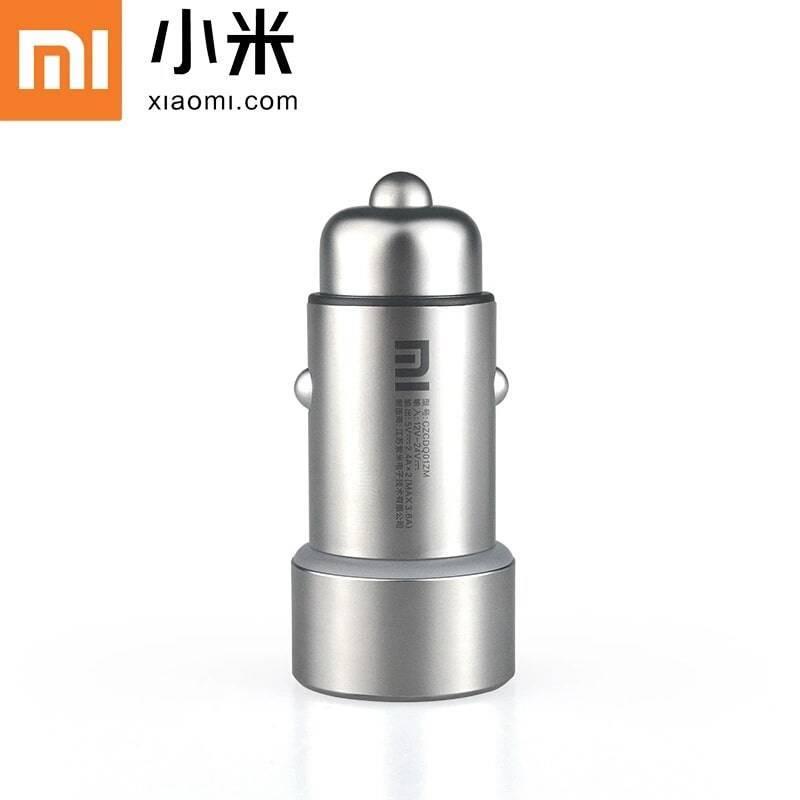 Cargador de coche Xiaomi original 12-24V 5V 3,6A doble USB para PC, Smartphone, Tablet