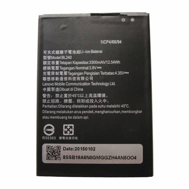 Bateria original 3300mAh de reemplazo para movil chino Lenove note 8
