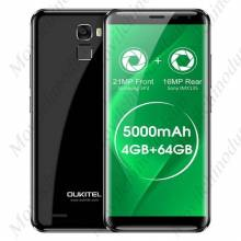 "Movil chino OUKITEL K5000 pantalla 5.7"" HD procesador MTK6750T ocho nucleos Android 7.0 4 GB de RAM 64 GB ROM 21MP"