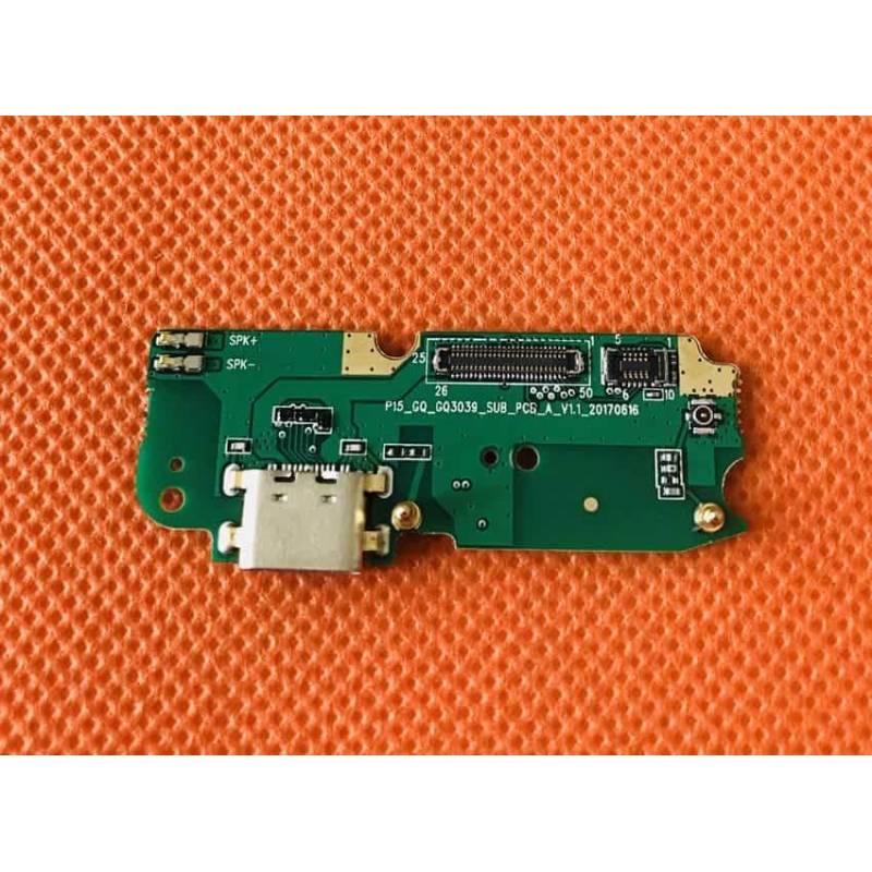 Repuesto placa USB cargador de enchufe y micrófono para movil chino Ulefone T1