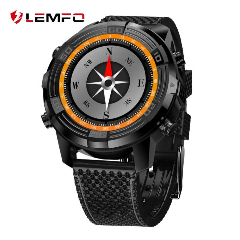 Reloj Inteligente LEMFO LEM6 Android 5.1 Watch Phone con 1GB 16GB SIM 3G WIFI GPS