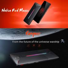 "Movil chino ZTE Nubia Red Magic de 6"" ocho nucleos con 8 GB RAM 128 GB ROM android 8 ideal Gamers"
