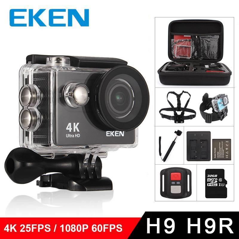 Videocamara deportiva Eken H9 accion H9R Ultra HD 4 K 25fps WiFi 20 170D subnautica impermeable