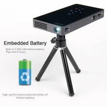 Proyector D5S Android 7.1 con WIFI incorporado Bluetooth bateria 4500 mAH HDMI USB y tarjeta