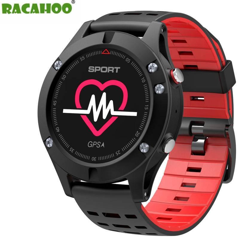 Reloj inteligente RACAHOO con GPS reloj deportivo multifuncion altimetro barometro termometro ritmo cardiaco