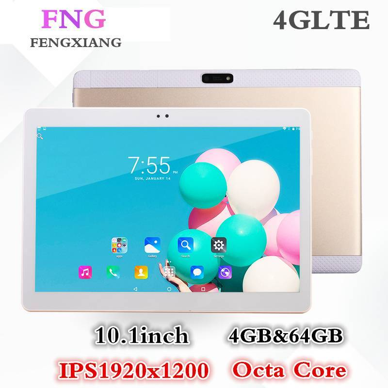 Tablet china FENGXIANG pantalla 10.1 pulgadas 4G Android 7.0 64GB ROM 4GB RAM WiFi FM Bluetooth