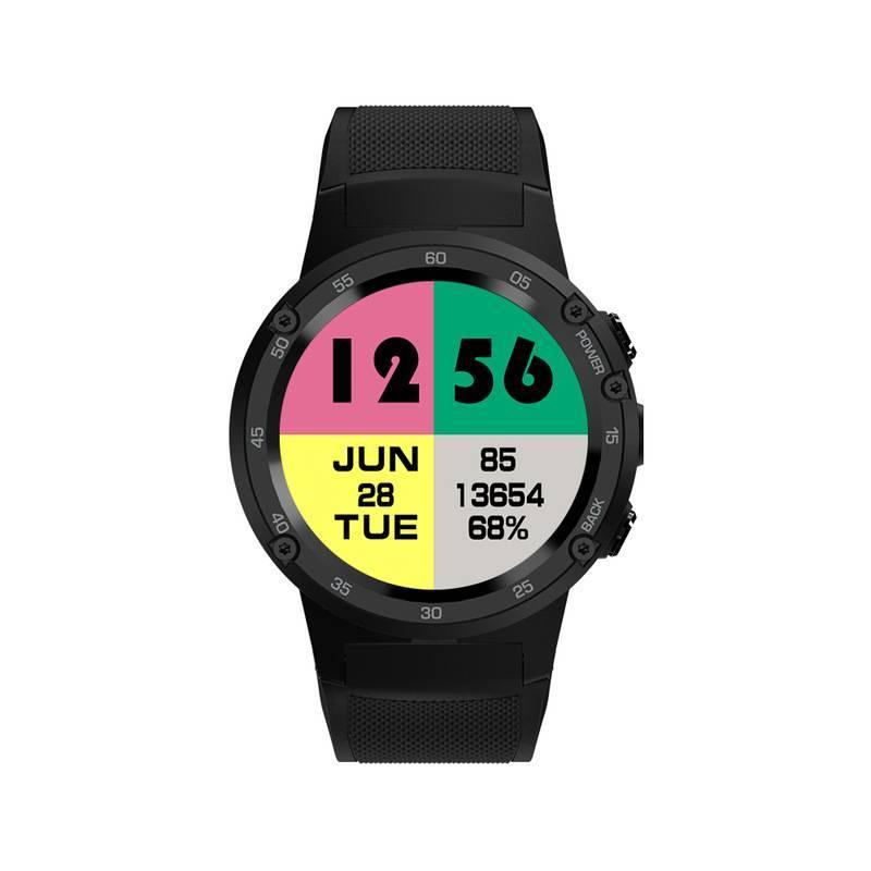 Reloj inteligente Zeblaze THOR 4 insignia 4G LTE GPS Android 7.0 MTK6737 Quad Core 1 GB 16 GB