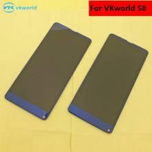 Pantalla LCD + pantalla táctil de reemplazo para movil chino vkworld S8