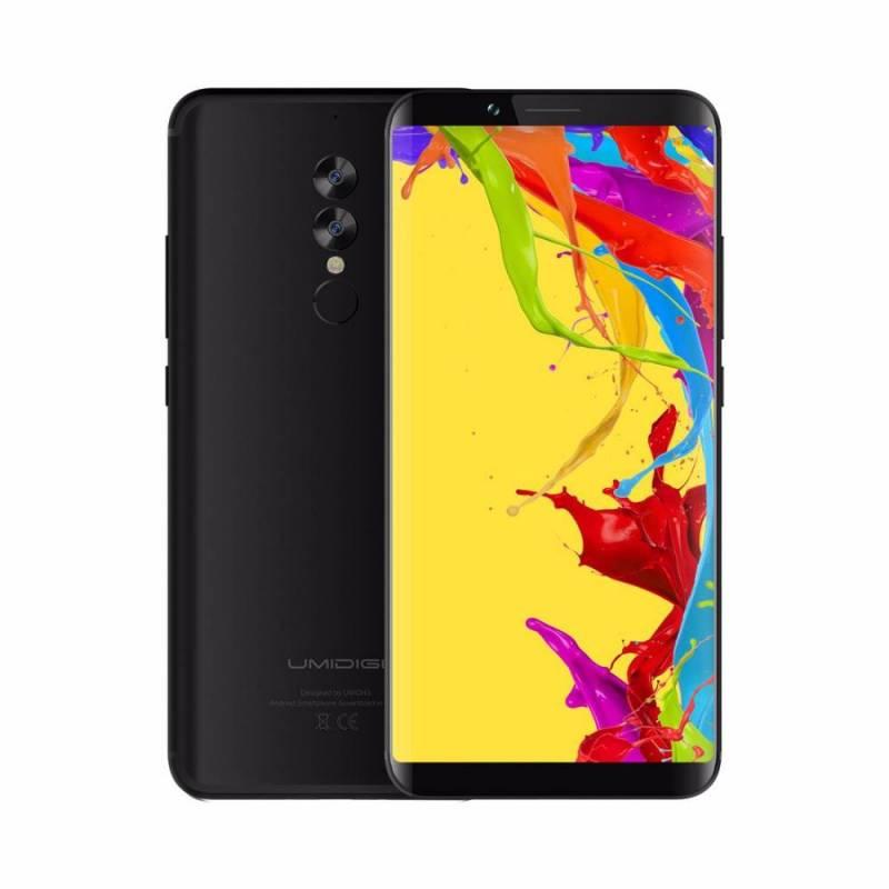 Movil chino UMIDIGI S2 Lite pantalla 6,0 '' 18:9 bateria 5100 mAh 4 GB + 32 GB Octa Core con android 7,0 4G LTE OTG