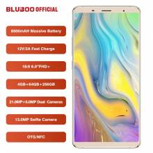 Movil chino BLUBOO S3 pantalla 6.0 MTK6750T Octa Core 4 GB RAM 64 GB ROM bateria 8500 mah 21MP