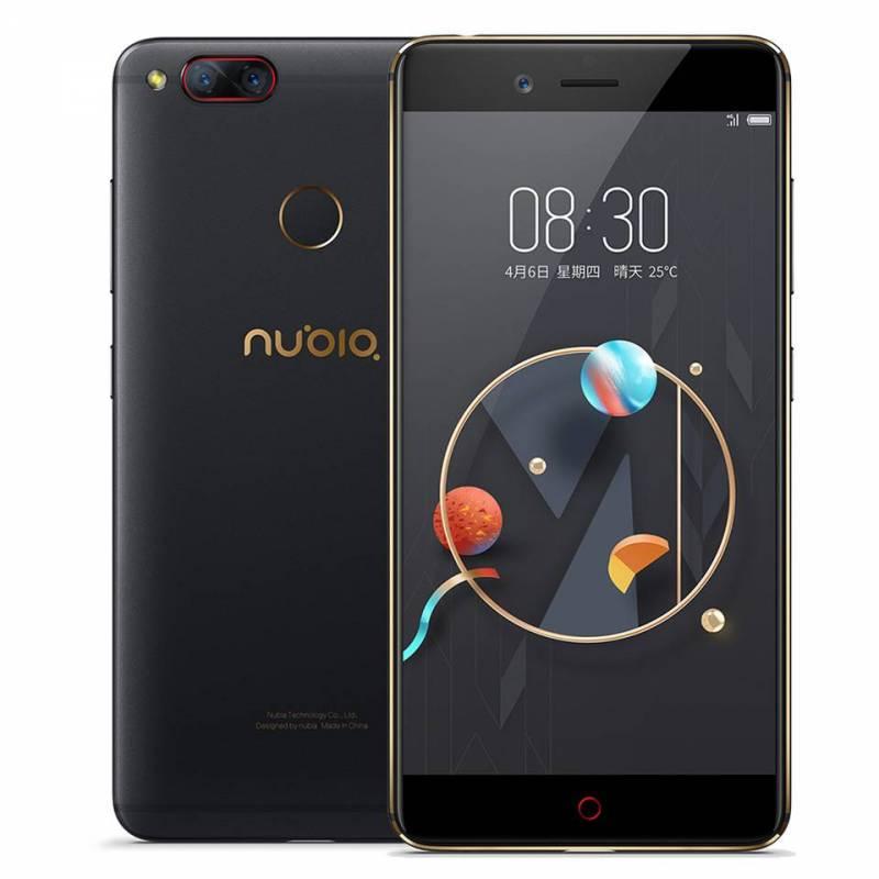 Movil chino ZTE Nubia Z17 Mini Dual cámara trasera 4 GB/6 GB RAM 64 GB ROM 5,2 pulgadas Snapdragon 652 MSM8976