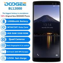 Movil chino DOOGEE BL12000 pantalla 6,0 '' bateria 12000 mAh Octa Core 4 GB RAM 32 GB ROM Android 7,0 16.0MP + 16.0MP