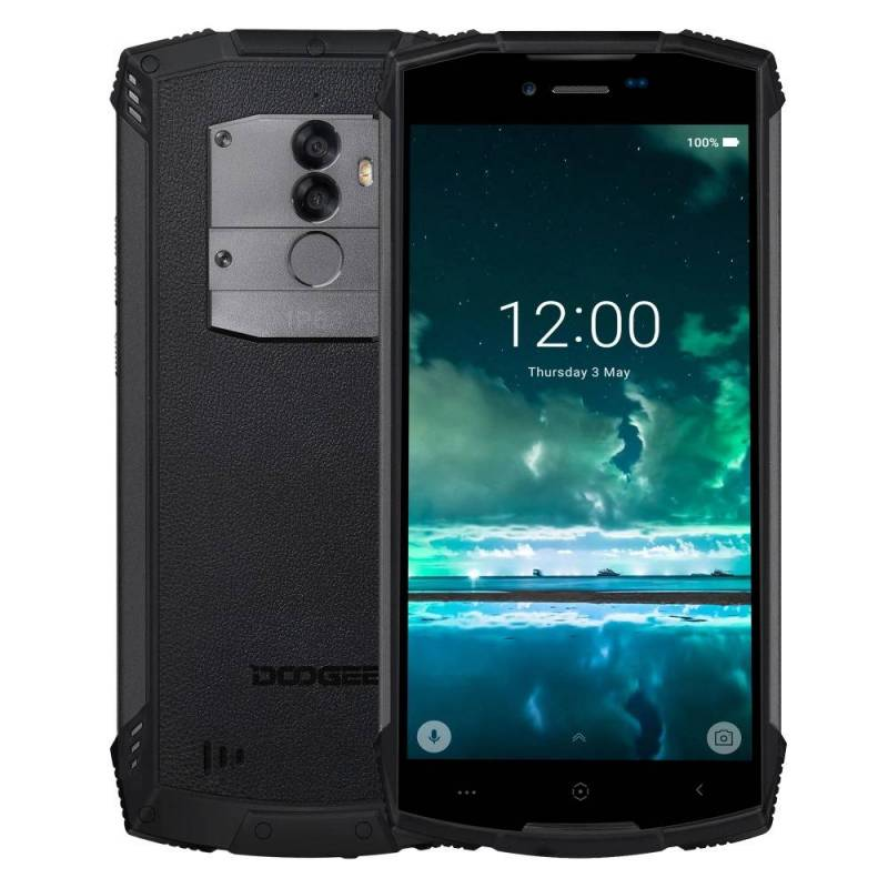 Movil chino DOOGEE S55 4 GB 64 GB IP68 impermeable pantalla 5.5 13MP Android 8.0 MTK6750 Octa Core