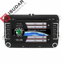 Reproductor Multimedia Isudar coche GPS Autoradio 2 Din para Skoda/Octavia/Fabia/Rapid/Yeti/ superb/VW/