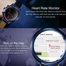 Reloj inteligente LEMFO LEM5 hombres impermeable Android 5,1 Bluetooth Wifi 3G GPS App