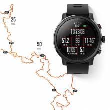 Reloj inteligente AMAZFIT Stratos 2 Bluetooth GPS 11 Tipos de Modos de Deportes 5 ATM Impermeable