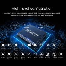 Reloj inteligente LEMFO LEM7 Android 7,0 LTE 4G ritmo cardíaco 1 GB + 16 GB memoria con camara
