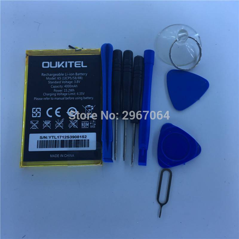 Bateria original de 4000 mAh para movil chino oukitel K5