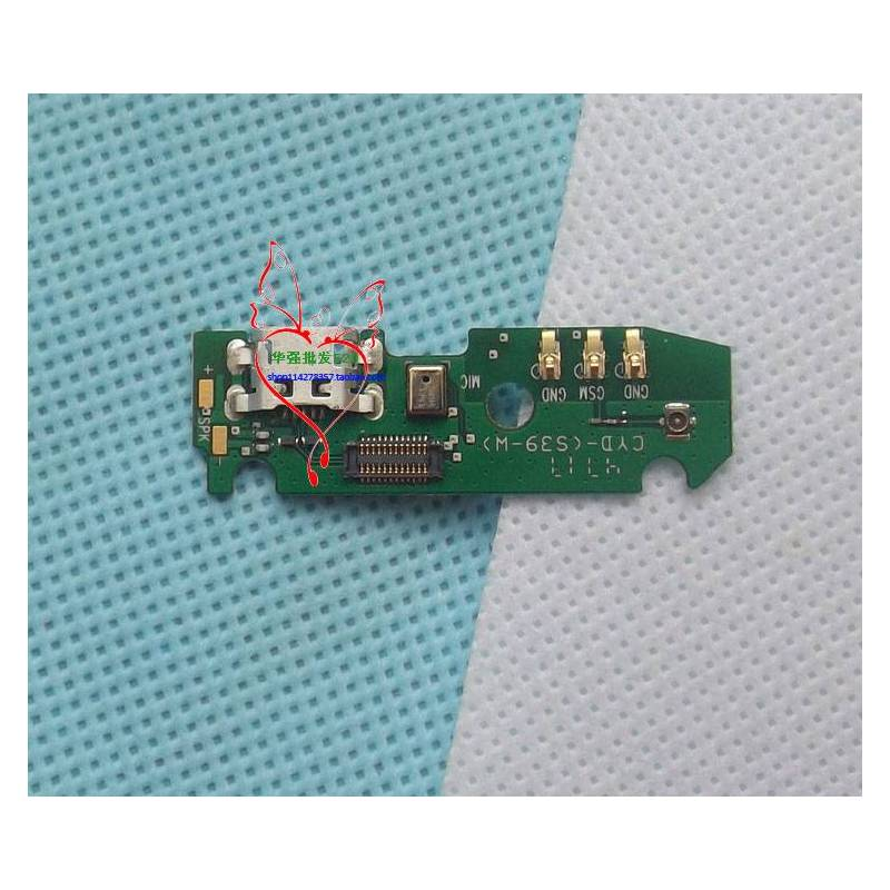 Repuesto placa USB cargador de enchufe para movil chino Oukitel K5