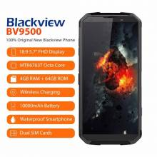 "Movil chino Blackview BV9500 4G Android 8,1 Octa Core 5,7 "" 18:9 MTK6763T 4 GB RAM 64 GB ROM IP68 impermeable NFC OTG"