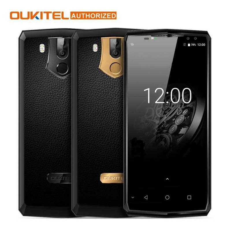 Movil OUKITEL K10 4G pantalla 6,0 pulgadas Android 7,0 Octa Core 6 GB 64 GB bateria 11000 mAh Fingerprint NFC