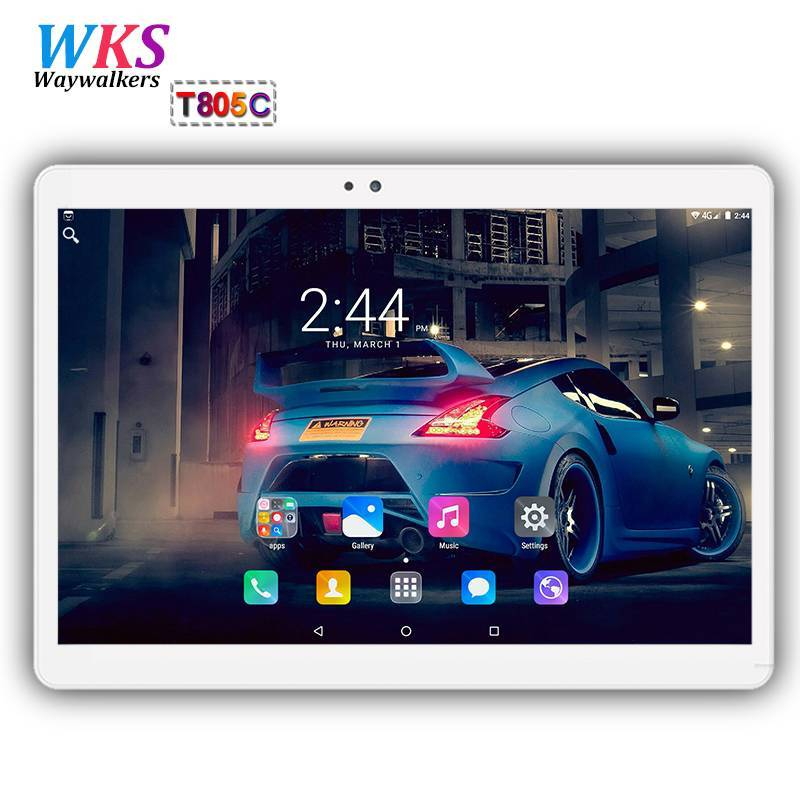 Tablet china 10,1 pulgadas 3G/4G LTE Android 7,0 Octa Core 4 GB + 64 GB 1920*1200 IPS Dual SIM WIFI FM Bluetooth