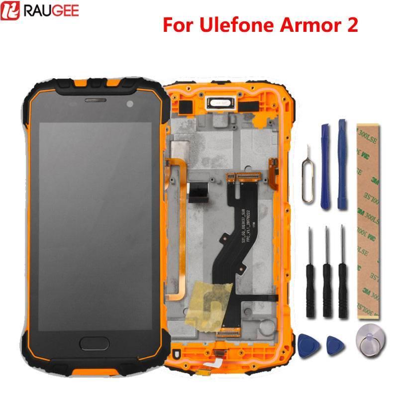Pantalla LCD + pantalla tactil de reemplazo para movil chino Ulefone Armor 2