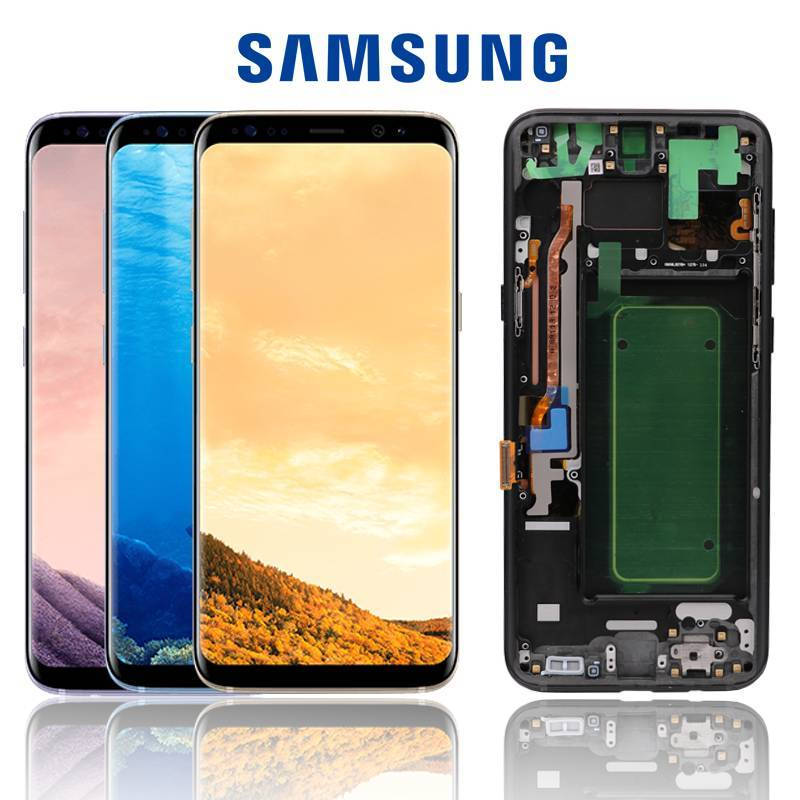 Pantalla LCD + pantalla táctil de reemplazo para movil original SAMSUNG Galaxy S8