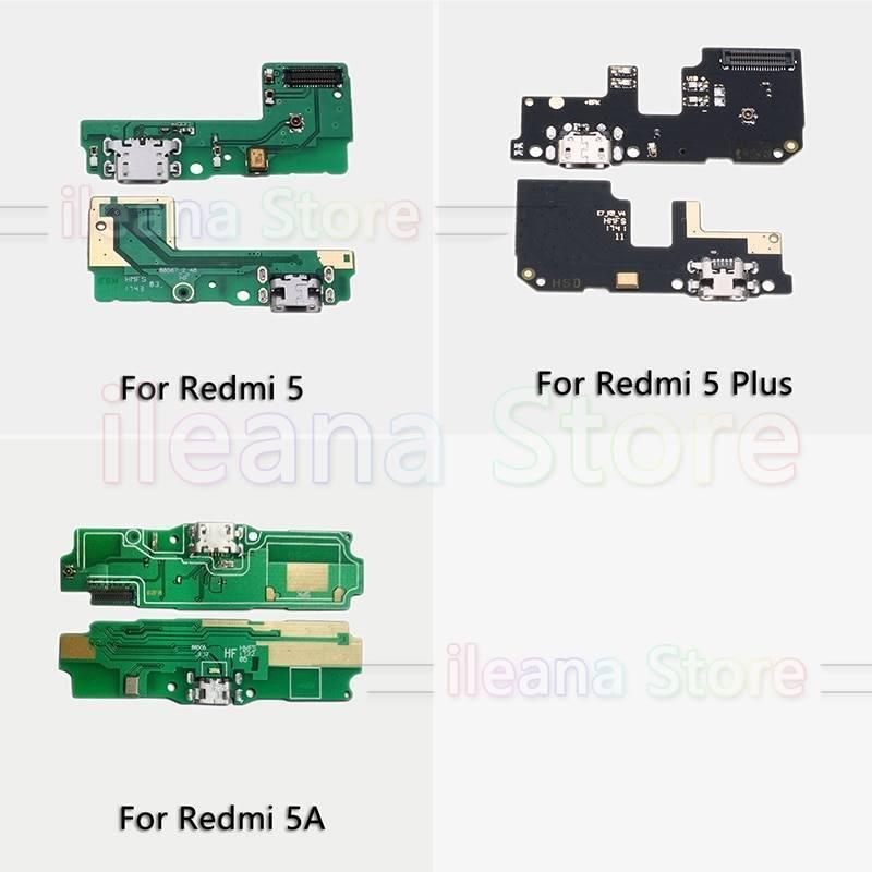 Repuesto placa USB cargador de enchufe para movil chino Xiaomi Redmi 5 Plus