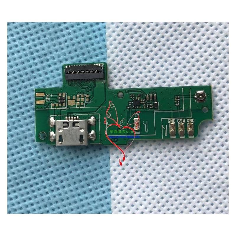 Repuesto placa USB cargador de enchufe para movil chino Leagoo m9 pro