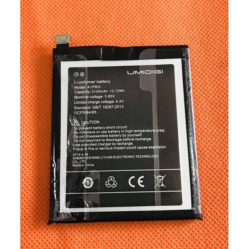 Bateria original de3150 mAh para movil chino Umidigi A1 Pro