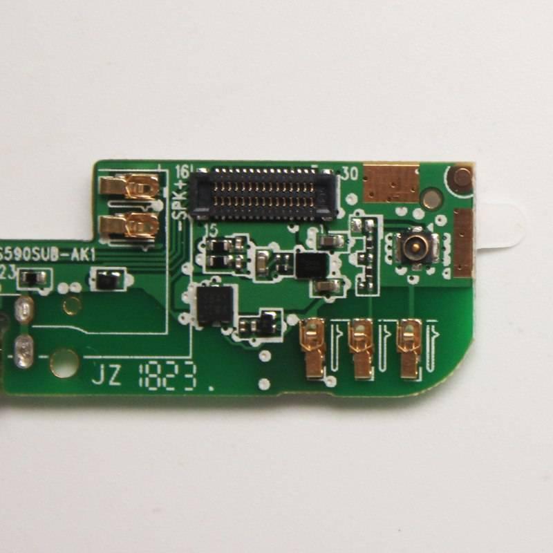 Repuesto placa USB cargador de enchufe para movil chinoCUBOT P20