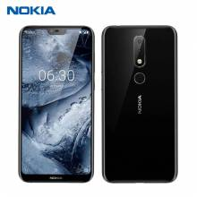 "Movil Nokia X6 ROM 64G RAM 6G pantalla 5,8"" Snapdragon 636 Octa Core camara dual Android Fingerprint"