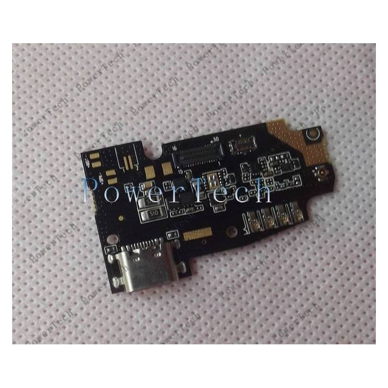 Repuesto placa USB cargador de enchufe para movil chino Ulefone Power 5