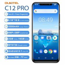 "Movil chino OUKITEL C12 Pro 6,18"" 19:9 Android 8,1 MT6739 Quad Core 2G RAM 16G ROM 4G bateria 3300 mAh"