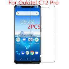 2 protectores de pantalla de alta calidad para movil chino Oukitel C12 Pro