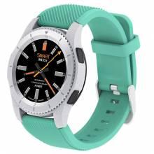 Reloj inteligente N1 G8 Bluetooth 4,0 procesador MTK2502 tarjeta SIM recordatorio Monitor de ritmo cardíaco para Android IOS