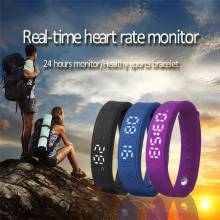 Pulsera inteligente TRINIDAD WOLF temperatura calorias monitor de sueño control de ritmo cardiaco