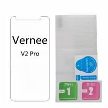 2 Protectores de pantalla vidrio templado de alta calidad para movil chino Vernee V2 pro