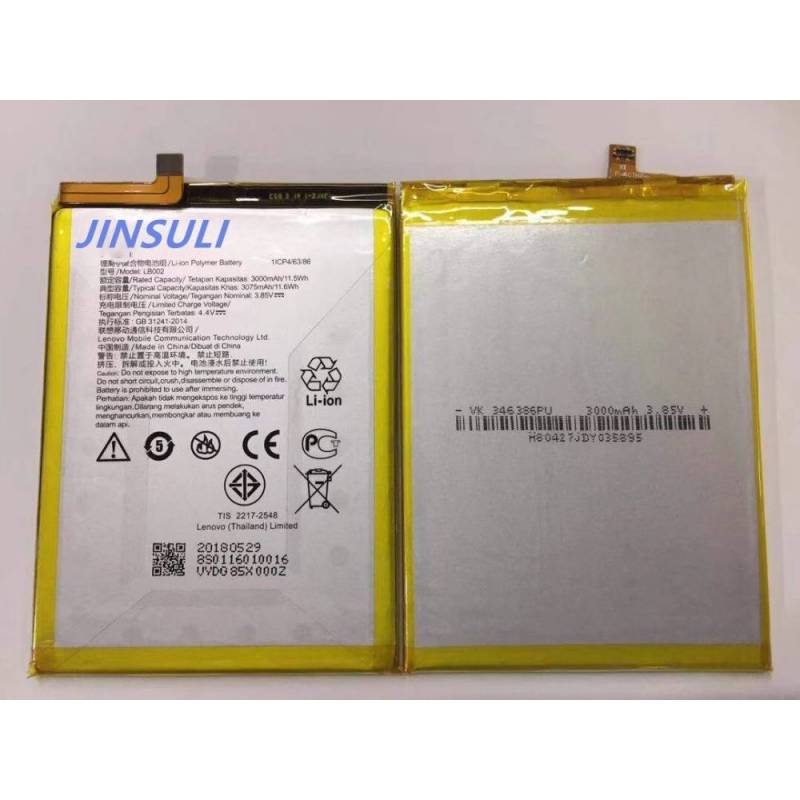 Bateria original de3000 mAh para movil chino Lenovo S5