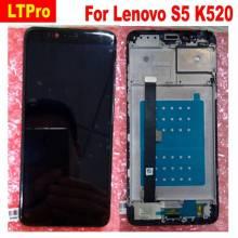 Pantalla LCD + pantalla táctil de reemplazo para movil chino Lenovo S5 k520
